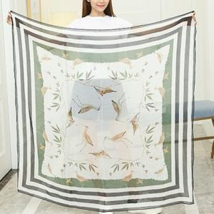Silk Modal Scarf Digital Print